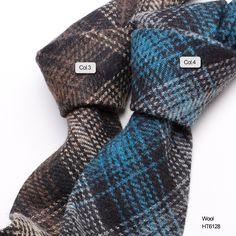 blue and black pinstripe wool Wool Tie, Neckties, Branding Design, Handsome, Men Casual, Blue, Collection, Fashion, Moda