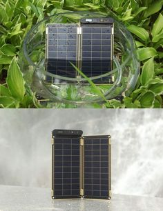 Solar Paper- world's thinnest solar charger