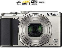 Nikon Coolpix A900 4K Wi-Fi Digital Camera (Silver) - (Renewed) : Camera & Photo Nikon Camera Tips.  [1] Nikon Coolpix A900 4K Wi-Fi Digital Camera (Silver) - Certified Refurbished. Nikon Camera Tips, Camera Hacks, Instax Camera, Nikon Coolpix, Digital Camera, Wi Fi, Silver, Digital Cameras, Money