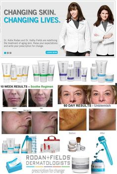 Rodan + Fields are the same doctors that made Proactiv.   https://catwilson.myrandf.com