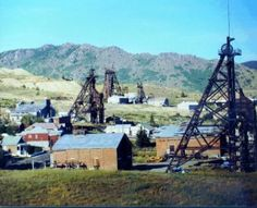 Butte, MT - old mining town.  NOW called 'The FESTIVAL City' of Montana.  It's a mile high & a mile deep.