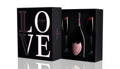 Dom Perignon LOVE gift box