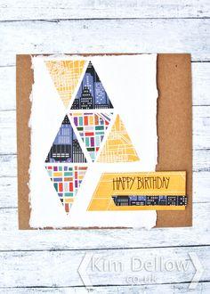 Geometric shapes in card making