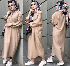 Modest Fashion Hijab, Modern Hijab Fashion, Muslim Women Fashion, Casual Hijab Outfit, Hijab Fashion Inspiration, Islamic Fashion, Abaya Fashion, Fashion Outfits, Modele Hijab