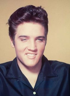 Elvis Presley. Today was his birthday. Miss his beautiful voice