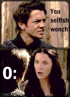 i really shouldn't think this is funny but i do. oh legend of the seeker:)