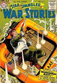 Pulp Fiction Comics, War Comics, Dc Comic Books, Silver Age, Vintage Comics, News Stories, Golden Age, Marvel, Author