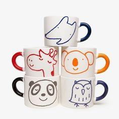 Happy-making mugs for little kids.
