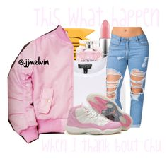 """""""❤️"""" by jjmelvin ❤ liked on Polyvore featuring MAC Cosmetics, Victoria's Secret and Topshop"""