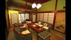 Interior del hotel Hoshi Ryokan