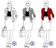 Ein Hell-Dunkel-Kontrast im Outfit macht schlank - wie das funktioniert, erfahren Sie bei www.modefluesterin.de