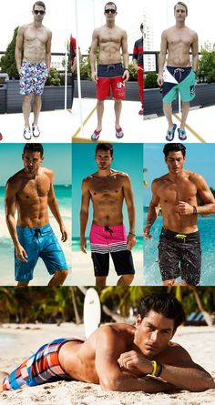 Men's Swimwear Trends SS13 – Part 2: Short Swim Shorts & Board Shorts | FashionBeans