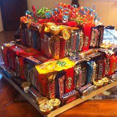"""Candy bar """"cake"""""""