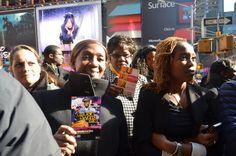 Soul Train Awards New York Flash Mob is pop'n today @BET @Centrictv #STAFlashMob