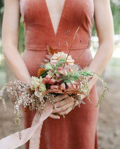 Which do you prefer- Bridesmaid dresses in velvet or satin? Cast your vote! We are loving @jennyyoonyc's velvet bridesmaid collection 😍 We Are Love, Bridesmaid Dresses, Wedding Dresses, Chic Wedding, Floral Design, Velvet, Satin, Bridal, Stylish