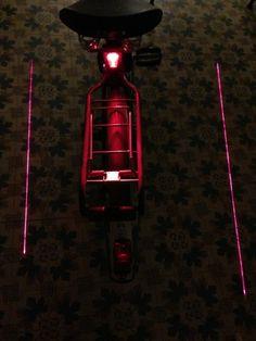 Un laser pour votre vélo