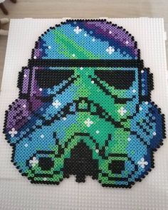 Stormtrooper Star Wars perler beads by jeanettel91