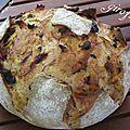 Ingrédients : 500 g de farine type 55 Une cuillère à soupe d'huile d'olive 25 cl d'eau ...