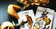 How do Cartomancy Readings Work?  Cartomancy is often confused with tarot cards but the truth is that it's completely different. Cartomancy readings are one of the oldest known forms of fortune telling and it appeared soon after playing cards reached Europe in the 14th century. There are some similarities between cartomancy and tarot in the use of spreads and cards, but the process and the cards used are completely different.