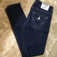 Skinny True Religion Jeans Mint condition. Material: 2% elastane, cotton & poly. PRICE FIRM NO TRADES True Religion Jeans Skinny