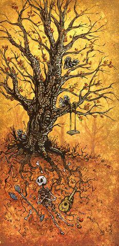 Tree of Life by David Lozeau.  Wow.  Beautiful