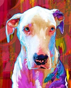Great Dane by Rebecca Collins