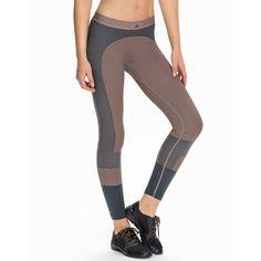 Adidas By Stella Mccartney Yo Sl Tight (835 SEK) ❤ liked on Polyvore featuring pink, sports fashion, tights, womens-fashion and adidas