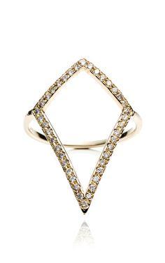 Mughal Rhombus Ring by for Preorder on Moda Operandi