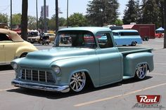 55 Chevy Step side Pick up.......