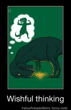 First good new T-Rex joke I've seen in a couple of months