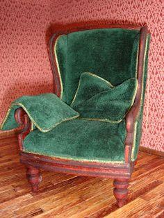 how to: miniature armchair tutorial