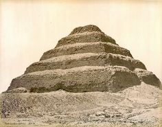 Pascal Sebah, The Step pyramid, Egypt