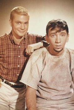 The Dobie Gillis Show.  Bob Denver played Dobie's friend Maynard G. Krebs.