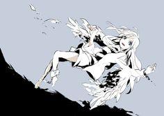 pixiv(ピクシブ)は、イラストの投稿・閲覧が楽しめる「イラストコミュニケーションサービス」です。幅広いジャンルのイラストが投稿され、ユーザー発のイラスト企画やメーカー公認のコンテストが開催されています。 Angel Of Death, Angel S, Manga Angel, Angle And Demon, Mad Father, Satsuriku No Tenshi, Rpg Horror Games, Anime Chibi, Anime Meme