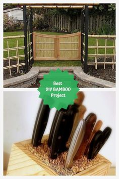 Amazing Bamboo Decoration Ideas #bamboodecoration Bamboo Crafts, Bamboo Decoration, Bamboo Ideas, Diy And Crafts, Easy Diy, Diy Projects, Amazing, Handyman Projects, Handmade Crafts
