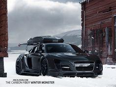 Jon Olsson's PPI Design Audi R8 Razor GTR is a Carbon Masterpiece