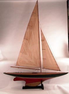 https://flic.kr/p/jDooJo | Large A Class Model Yacht