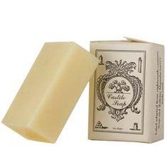 Historic Area Castile Soap Bar. The BEST castile soap on this planet! Smells divine, too!