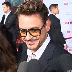 Robert Downey Jr. @ Iron Man 3 premiere