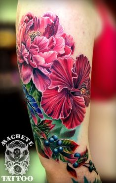 Pretty colors and I like the concept Hip Tattoos Women, Girls With Sleeve Tattoos, Tattoos For Women Small, Small Tattoos, Cool Tattoos, Feather Tattoos, Forearm Tattoos, Flower Tattoos, Body Art Tattoos