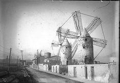 Molinos de Viento de Mallorca por el Ing.Santiago Fernández