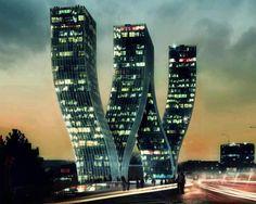 Walter Towers Prague, Czech Republic .