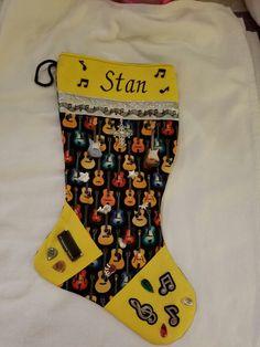 Stan's theme is guitars