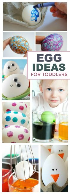 20 MESS-FREE WAYSTO DECORATE EGGS WITH KIDS. These are fantastic! {No more stained skin}