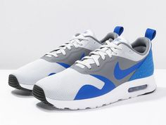 Nike Sportswear AIR MAX TAVAS Baskets basses - pure platinum/game royal/cool grey prix Baskets Homme Zalando 120.00 €