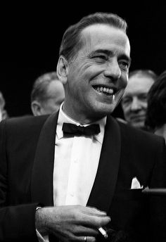 "michaelpalin: "" Humphrey Bogart at the premiere of The Desperate Hours, "" Hollywood Actor, Golden Age Of Hollywood, Vintage Hollywood, Hollywood Stars, Classic Hollywood, Bogie And Bacall, Cinema, Humphrey Bogart, Lauren Bacall"