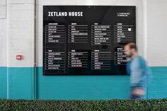 Bunch: Zetland House Signage