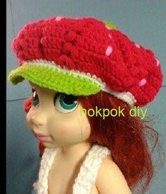 strawberry hat