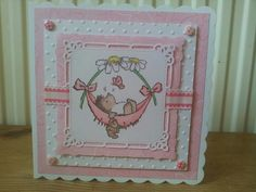 Penny black baby card