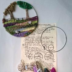 Circular Landscape Weaving Kits | Rebellious Rags